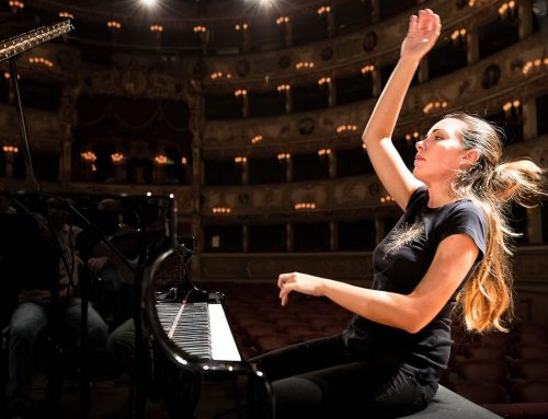 Parlando con la pianista Gloria Campaner
