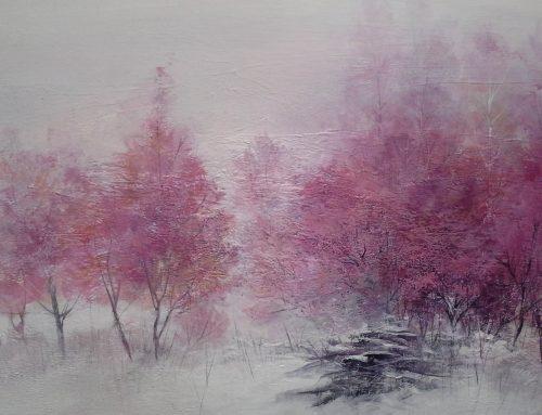 ROSSO D'INVERNO – la pittura di Daniela Borsoi
